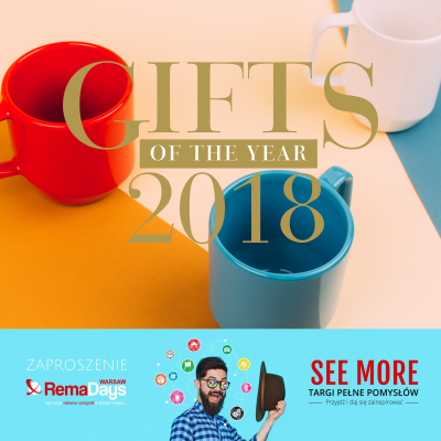 Konkurs Gifts of the Year 2018
