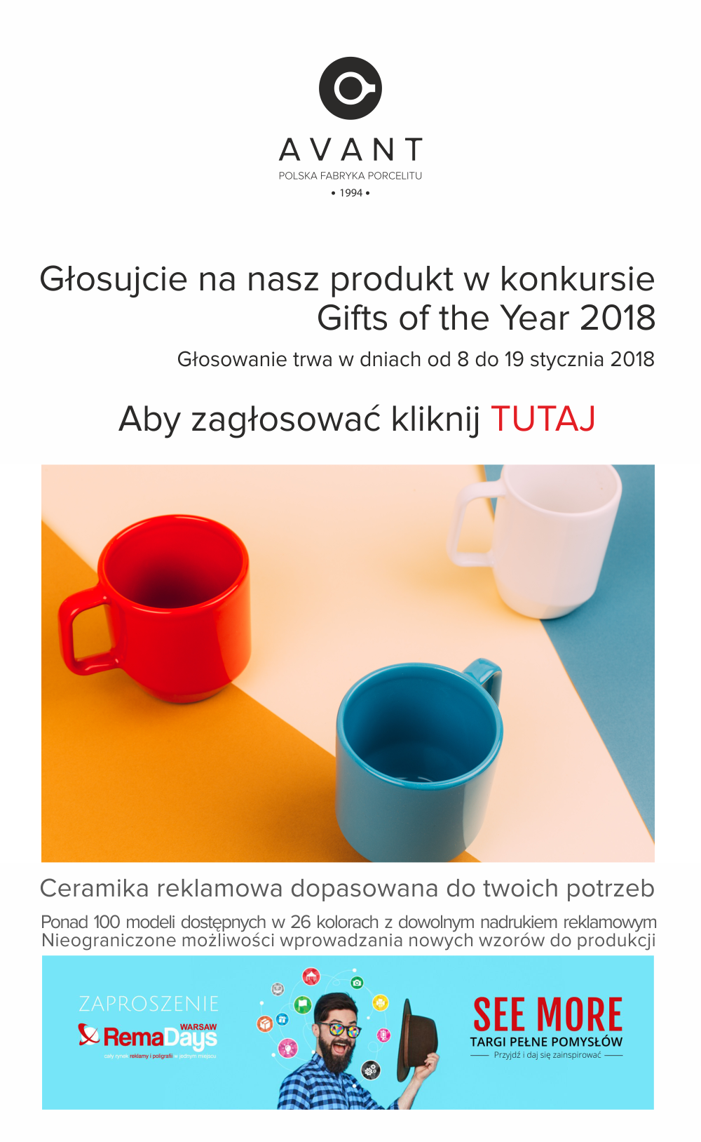 Konkurs Gifts of the Year